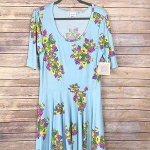 LuLaRoe Nicole Dress—VINTAGE